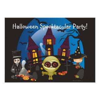 Halloween Spooktacular Party! Custom Invite