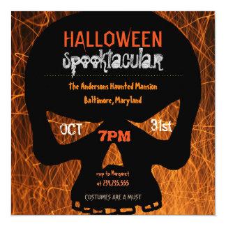 Halloween Spooktacular | Skull Fire Card