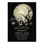 Halloween Spooky Dark Full Moon Jack O Lantern Card