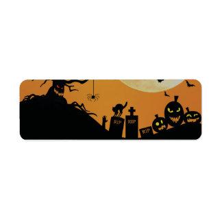 Halloween Spooky Fun Label