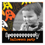 Halloween Spooky Ghosts Fun Holiday Party Invite Personalized Invites