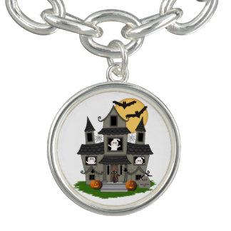 Halloween Spooky House Charm Bracelets
