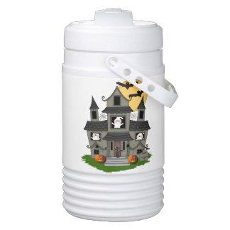 Halloween Spooky House Cooler