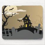 Halloween Spooky House Mousepad