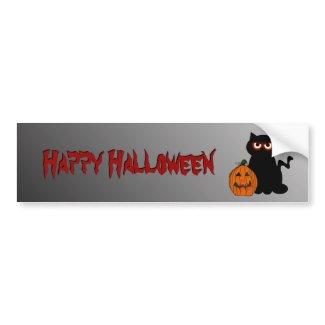 Halloween Spooky Kitty Bumper Sticker bumpersticker