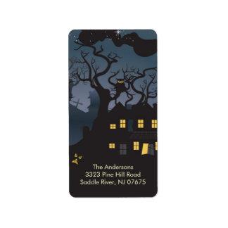 Halloween Spooky Night Return Address Label