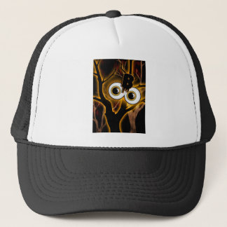 Halloween spooky party adults trucker hat
