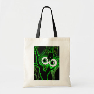 Halloween spooky party kids adults budget tote bag