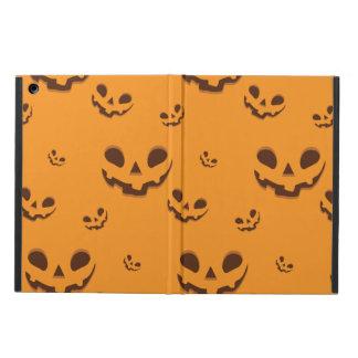 Halloween Spooky Pumpkin Face Pattern Case For iPad Air