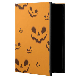 Halloween Spooky Pumpkin Face Pattern Powis iPad Air 2 Case