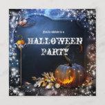 "Halloween Spooky Pumpkin Magic Party Invitation<br><div class=""desc"">Halloween Spooky Pumpkin Magic Party Invitation.</div>"
