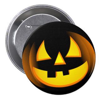 Halloween - Spooky Pumpkin Pinback Buttons