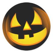 Halloween - Spooky Pumpkin sticker