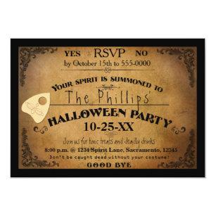 Halloween Spooky Spirit Board Party Invitation