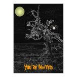 "Halloween Spooky Tree Invitations 5"" X 7"" Invitation Card"