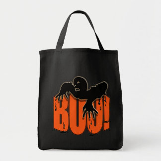 Halloween Spooky Zombie Boo Party Candy Tote Bag