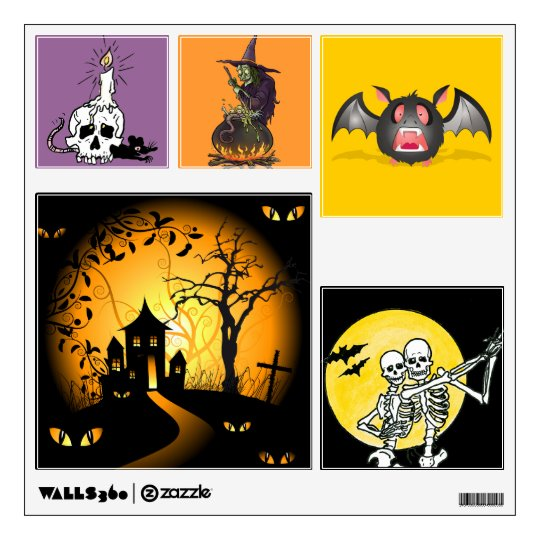 Halloween Squares Wall Decal