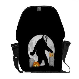 Halloween Squatchin Commuter Bags