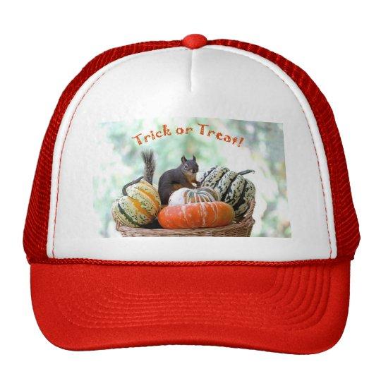 Halloween Squirrel Trucker Hat