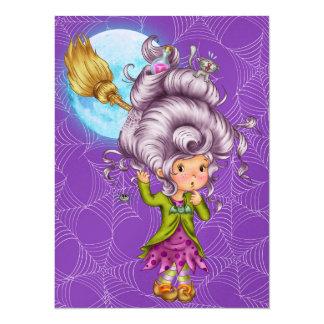 Halloween - SRF 5.5x7.5 Paper Invitation Card