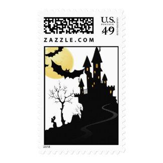 Halloween stamp