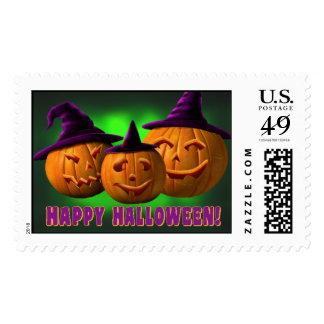 Halloween Stamps Witchy Pumpkins