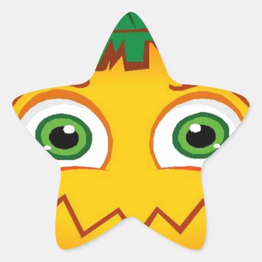 Halloween Star Sticker