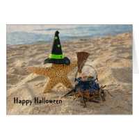 Halloween Starfish Card