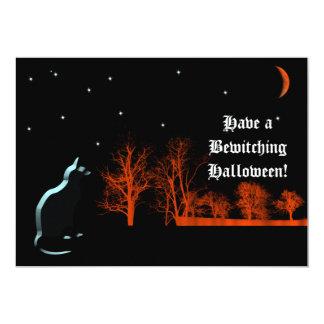 Halloween Starry Night Invitation