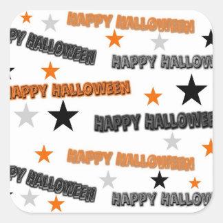 Halloween Stars Sticker