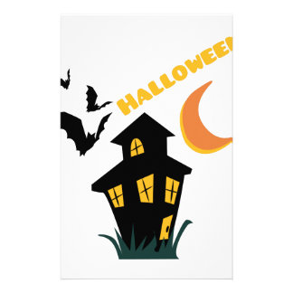 Halloween Stationery