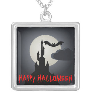 Halloween Sterling Silver Necklace