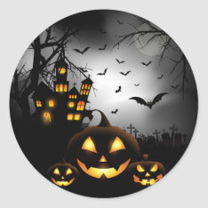 Halloween Stickers at Zazzle