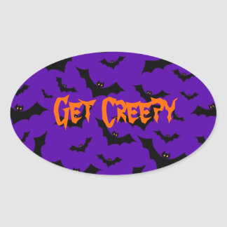 Halloween Stickers - Bats Get Creepy
