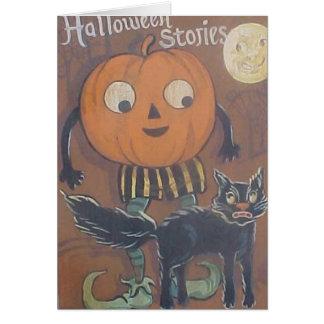 Halloween Stories Card