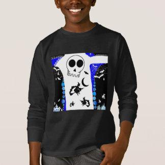 HALLOWEEN STORY [skull] T-Shirt