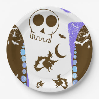 HALLOWEEN STORY [tones] Paper Plate