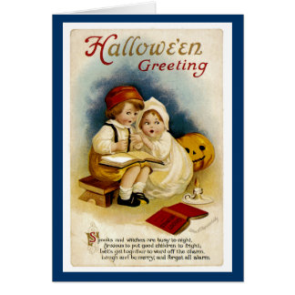 Halloween Storytelling Card