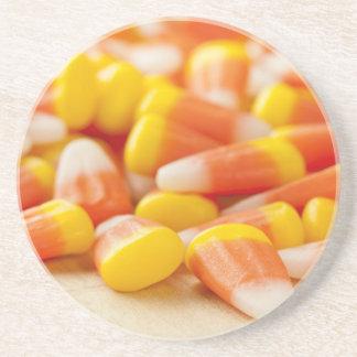Halloween Striped Candy Corn Coaster