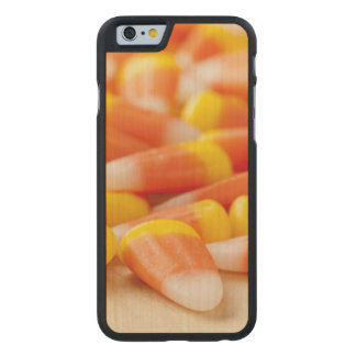 Halloween Striped Candy Corn Carved® Maple iPhone 6 Slim Case