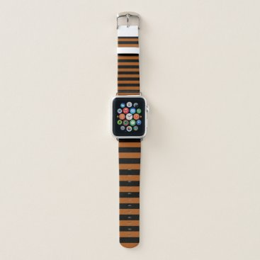 Halloween Themed Halloween Stripes Apple Watch Band