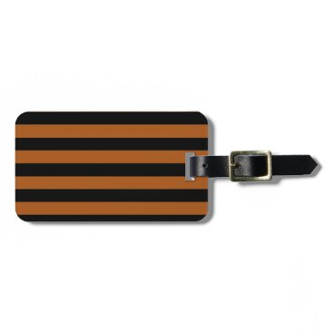 Halloween Themed Halloween Stripes Luggage Tag