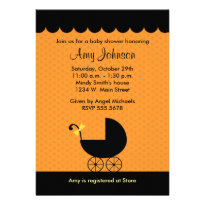Halloween Baby Shower Invitations - Halloween baby shower invitations