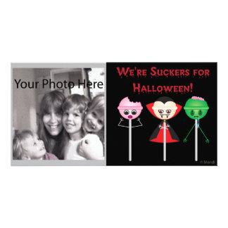 Halloween Suckers Card