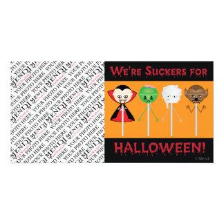 Halloween Suckers v2 Custom Photo Card