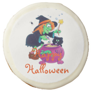 "Halloween Sugar Cookies - 3.5""/Witch's Potion"