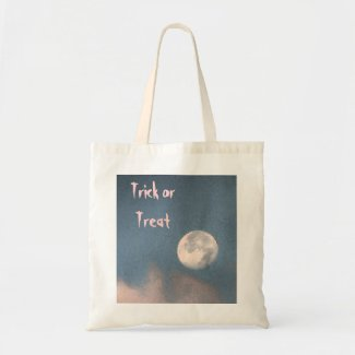 Halloween Sunrise Moon Tote Bag