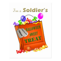 Halloween Sweet Treat Postcard