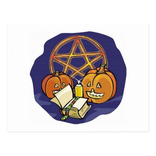 Halloween Symbols Post Cards