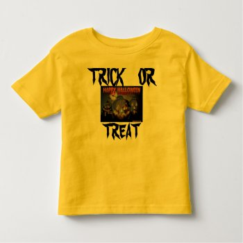 Halloween T Shirt Photo Kids Top by CREATIVEforKIDS at Zazzle